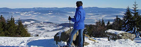 Winterwandern im Bayerischen Wald