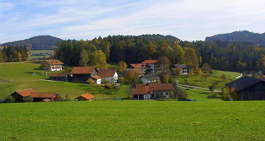 Landschaft im Viechtacher Land / Bayerischer Wald