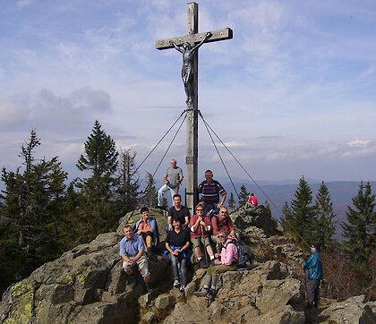 Bergwandern im Bayerischen Wald
