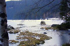 Großer Arbersee im Bayerischen Wald
