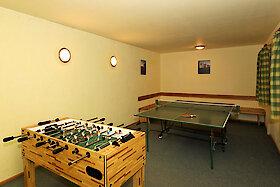 Billard und Tischtennisraum im Haus Weghofer